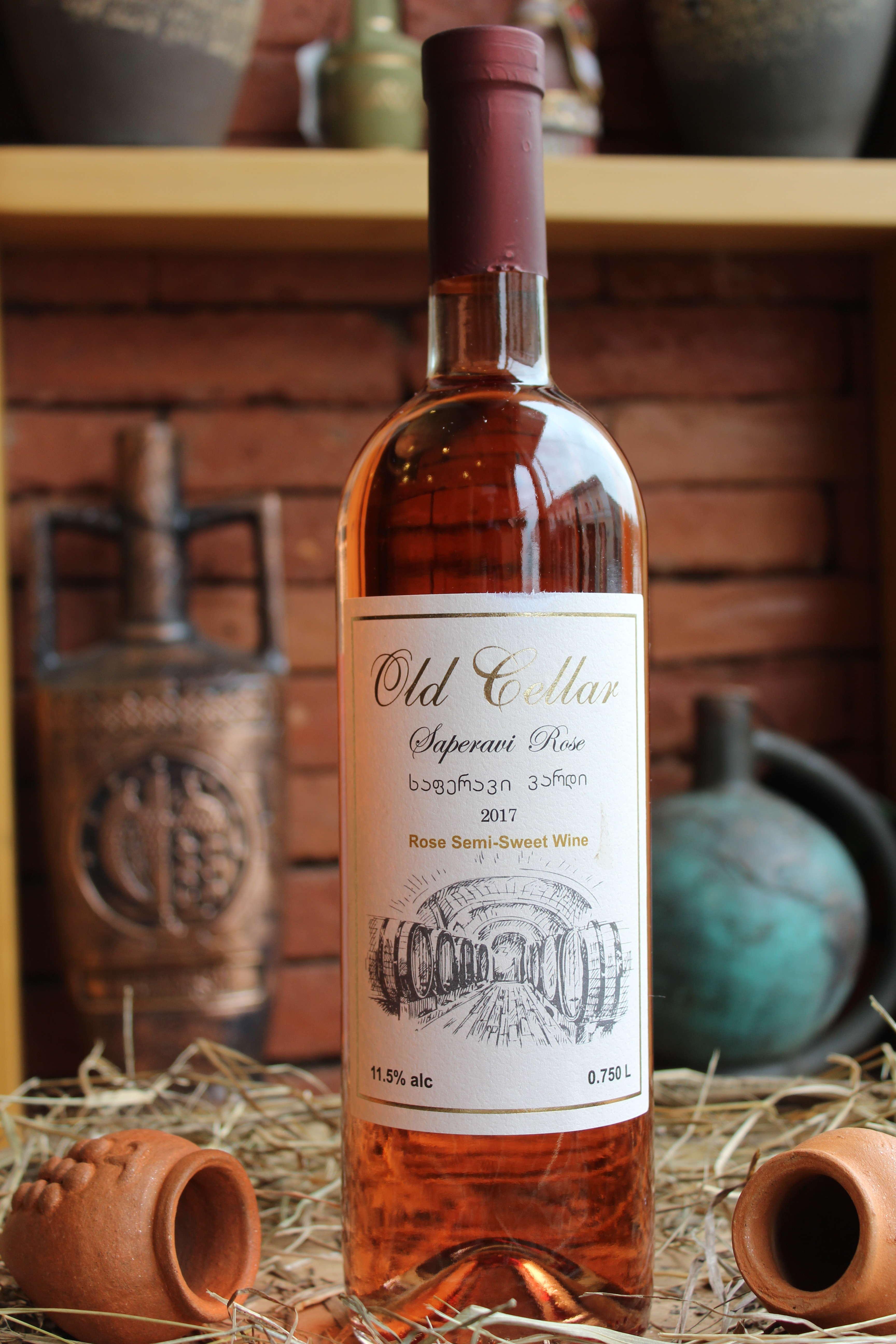 Old Cellar - Saperavi Rose semi-sweet